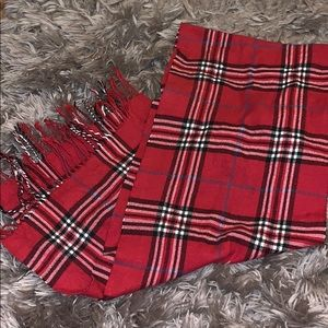 Plaid/Flannel scarf